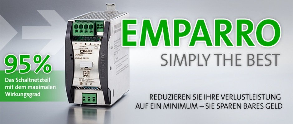 Murrelektronik Emparro® 3~ Premium Power