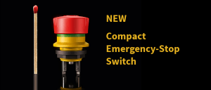 Compact Emergency-Stop Switch