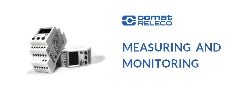 Read more about the article MEASURING AND MONITORING with the Comat Releco family of measuring devices