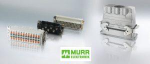 Schwere Steckverbinder von Murrelektronik für jeden Einsatzfall