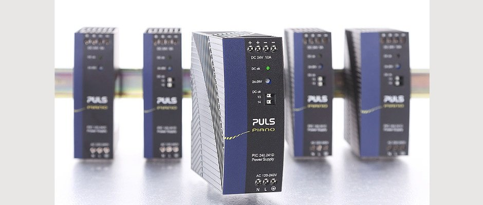 Cost-optimised 24V, 10A power supply with high-end performance