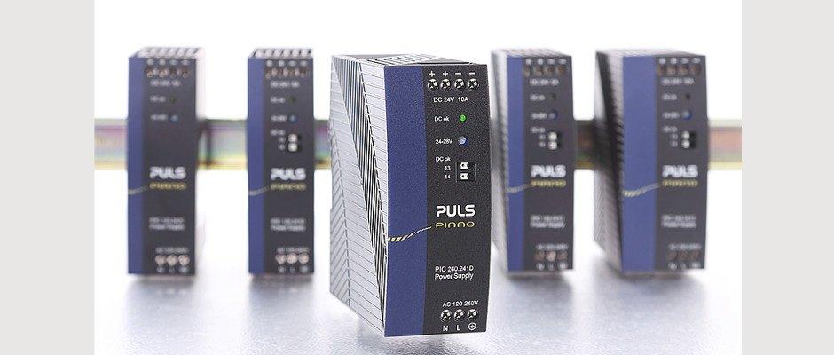 Kostenoptimierte 24V, 10A Stromversorgung mit High-End Qualitäten