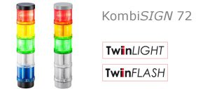 KombiSIGN 72 – No more compromises with the new generation of 70mm signal tower