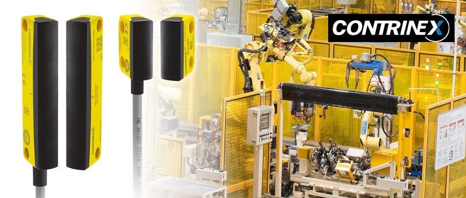 Magnetisch oder RFID-kodierte Sicherheitssensoren bieten kontaktfreien Schutz für Türen, Hauben und Klappen