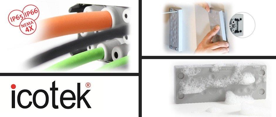 Kabeldurchführung KEL-DPU | universell, robust & hygienisch