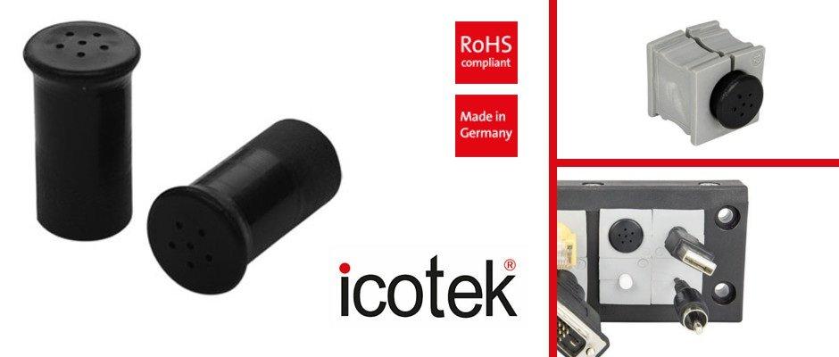 PCE – Pressure compensation element for cable grommets