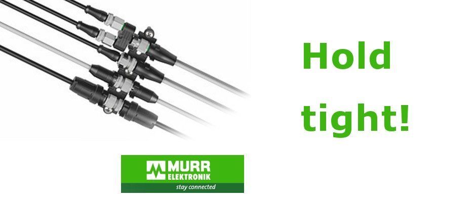 Hold tight! Practical Retaining Clips for Murrelektronik Connectors