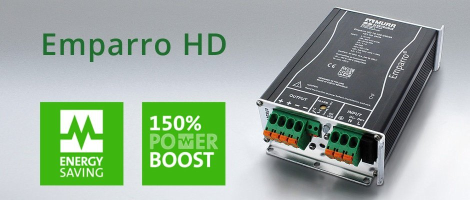 Emparro HD: Perfectly Engineered to Demanding Ambient Conditions