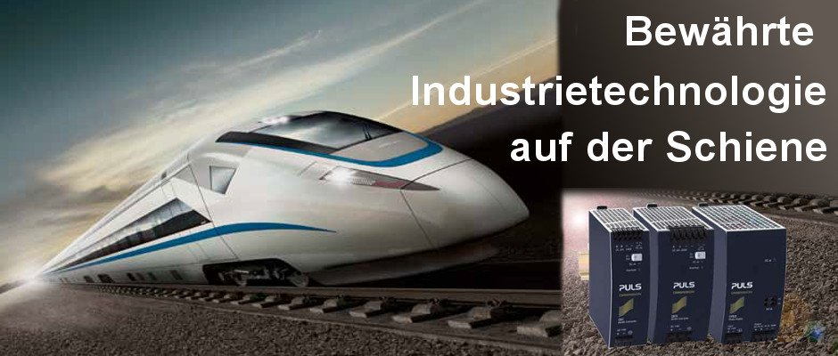 DIN-RAILway Power Supplies – ein neuer Standard im Bahnbereich