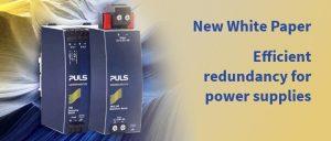 New White Paper: Efficient redundancy for power supplies