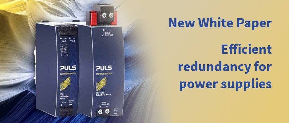 New White Paper: Efficient redundancy for power supplies