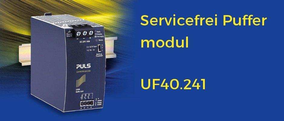 40A Puffermodul für 24V-Systeme: Zuverlässig und servicefrei