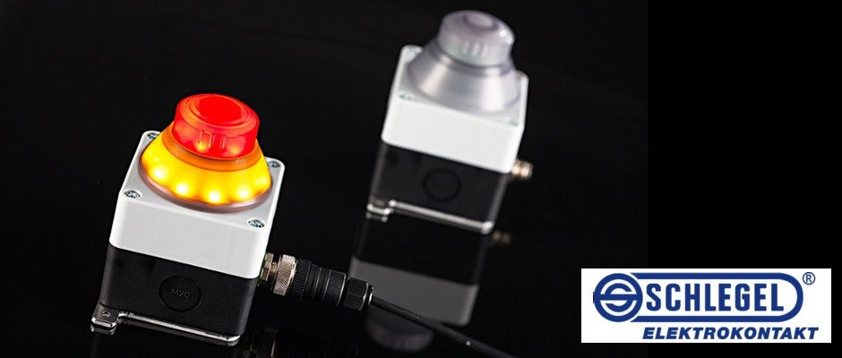 Read more about the article Active-illuminated emergency-stop with diagnostic unit
