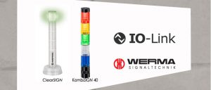 Real intelligence with an integral I/O link in Werma's signal towers