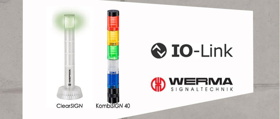 Read more about the article Real intelligence with an integral I/O link in Werma's signal towers