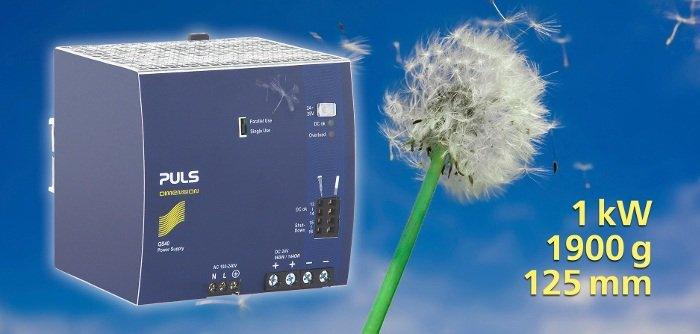 Read more about the article 1kW Lightweight Supply on the DIN-rail