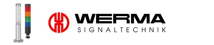 New WERMA slim-line KOMPAKT 37 LED signal tower