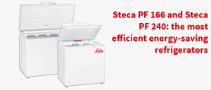 Steca PF 166 and Steca PF 240: the most efficient energy-saving refrigerators