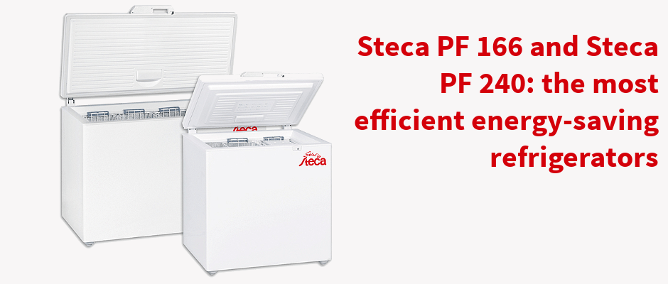 Steca PF 166 and Steca PF 240: the most efficient energy-saving refrigerators