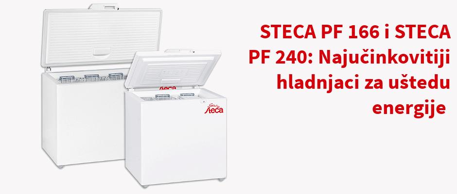 STECA PF 166 i STECA PF 240: Najučinkovitiji hladnjaci za uštedu energije