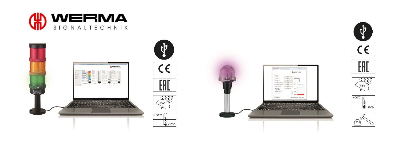 Signaltechnik-Lösungen mit USB