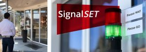 Crowd Management with SignalSET system