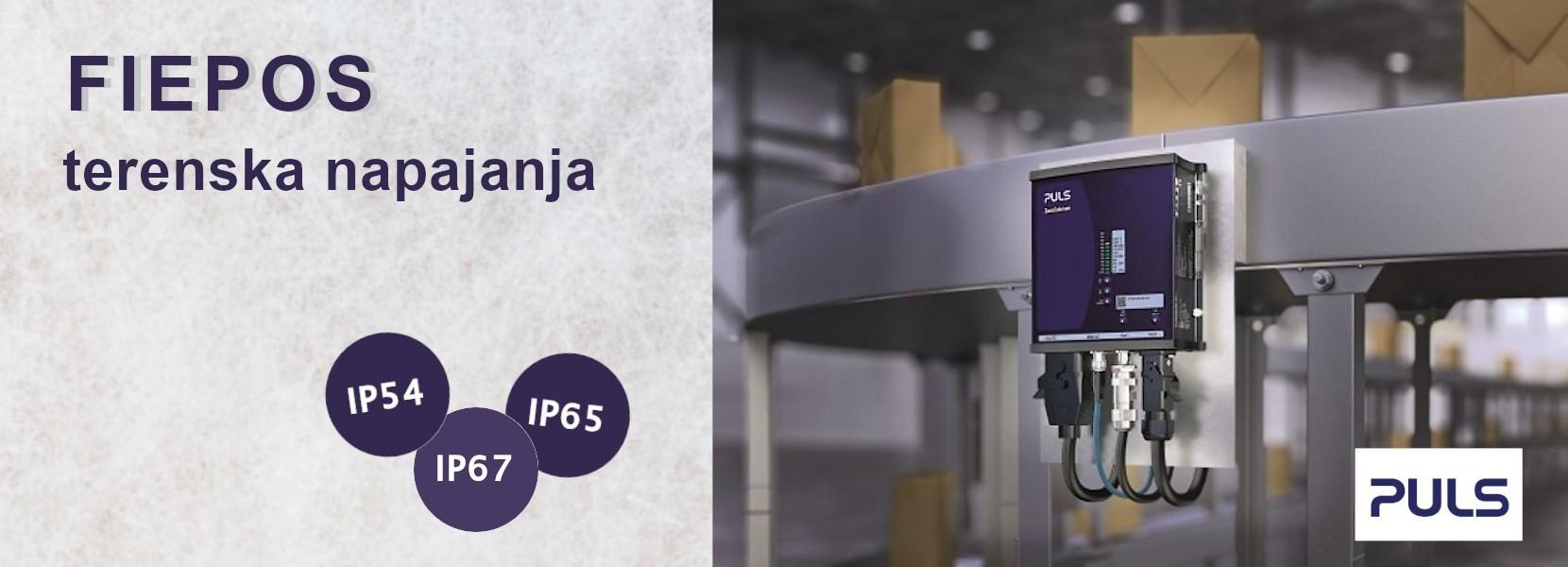FIEPOS – IP54, IP65 i IP67 terenska napajanja