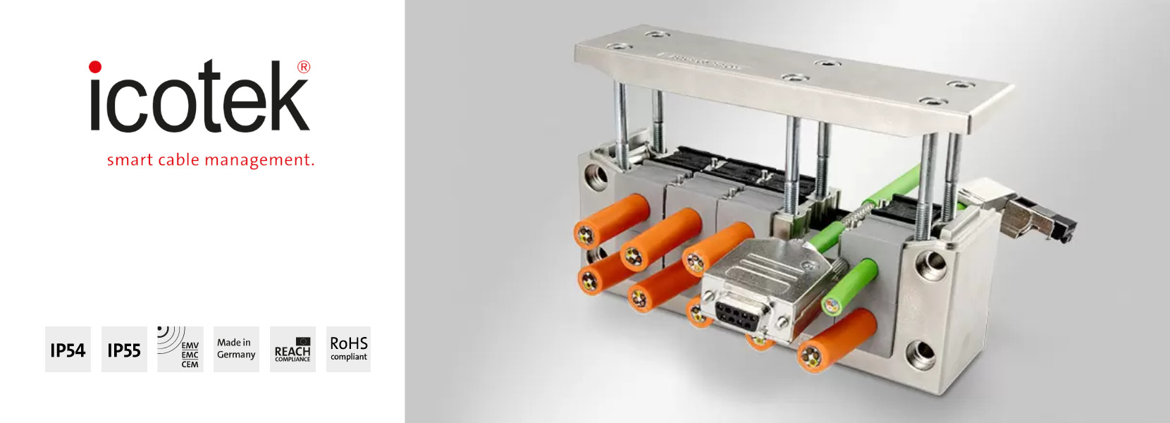 Read more about the article EMC-KEL-DS | Split EMC cable entry frames