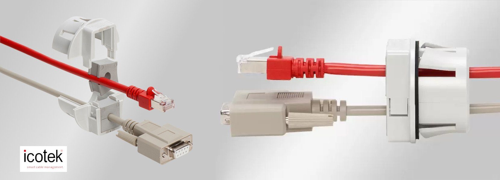 You are currently viewing QVT-CLICK split cable gland for snap-in mounting