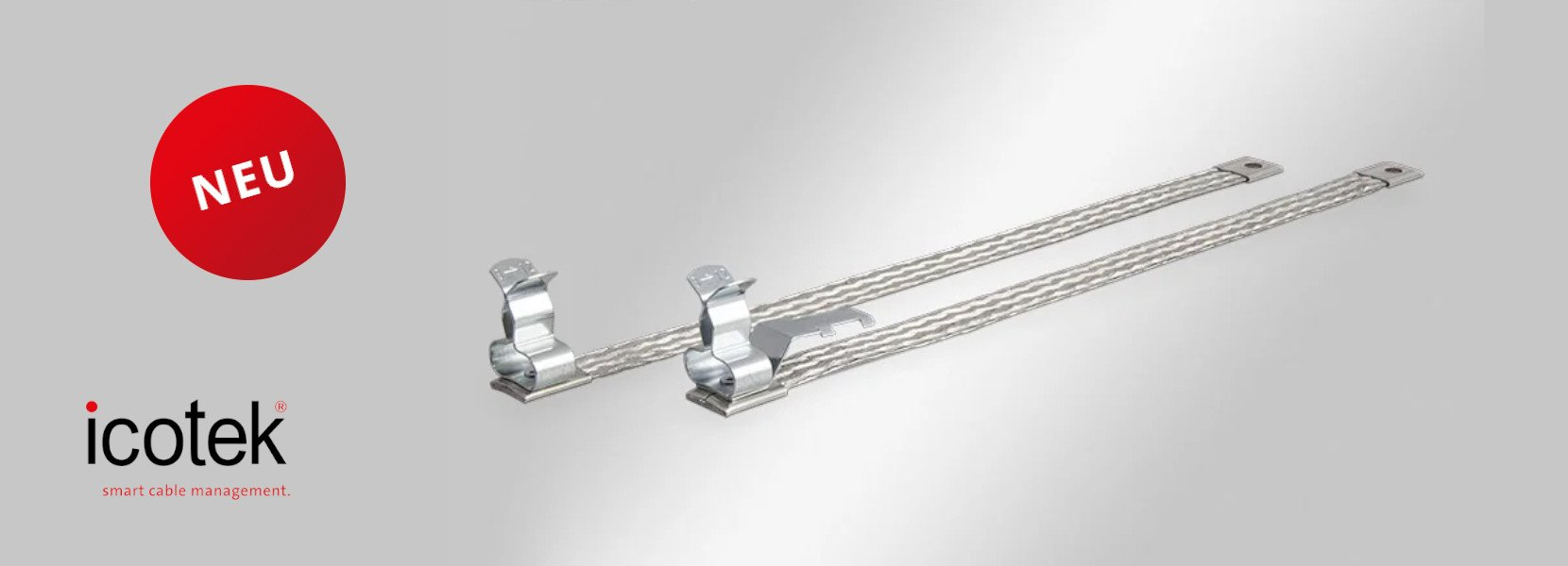 Read more about the article EMC shield clamps on earthing tapes