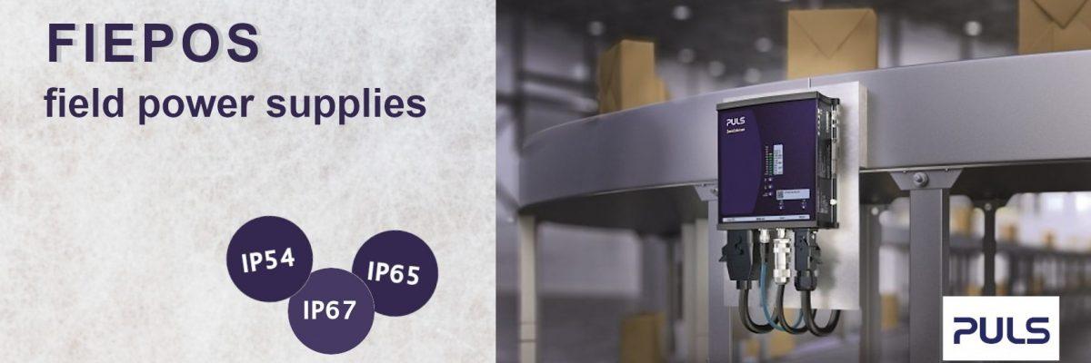 FIEPOS - IP54, IP65 and IP67 field power supplies - Varga Elektronik d.o.o